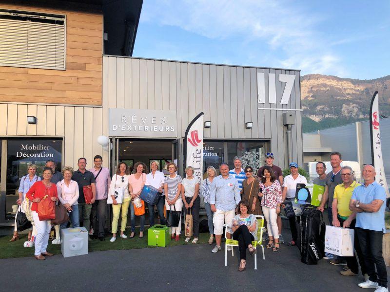 Magnifique compétition de Golf à Aix les Bains