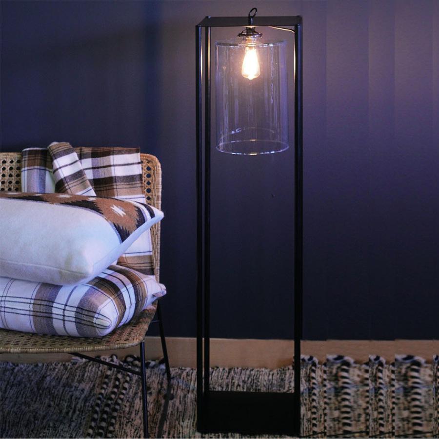"""Lampadaire façon """" lanterne """""""