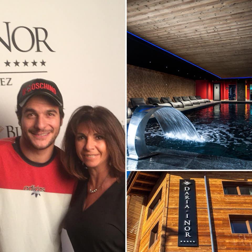 Inauguration de l'Hotel Daria-I Nor à l'Alpe d'Huez !