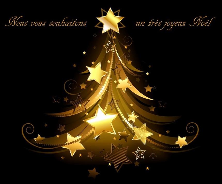 Nous vous souhaitons un très joyeux Noël