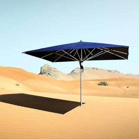 les parasols ! On y pense...