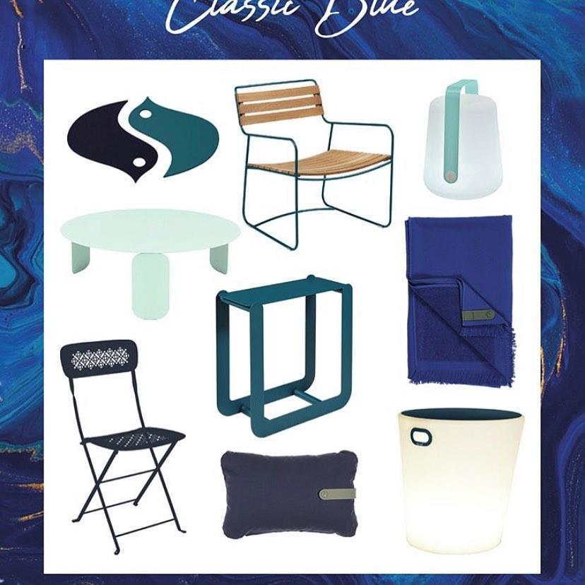 « Classic bleu » by @fermob