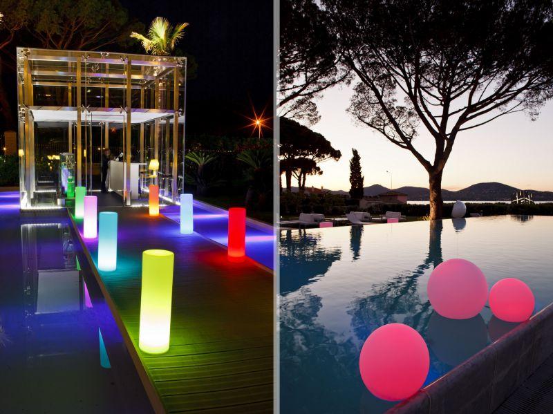 Luminaire LED sans fil - Décoration lumineuse