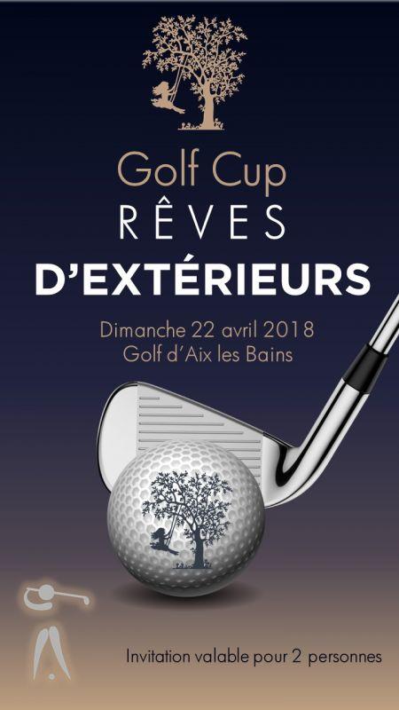 """Golf Cup """"Rêves d'Extérieurs"""""""