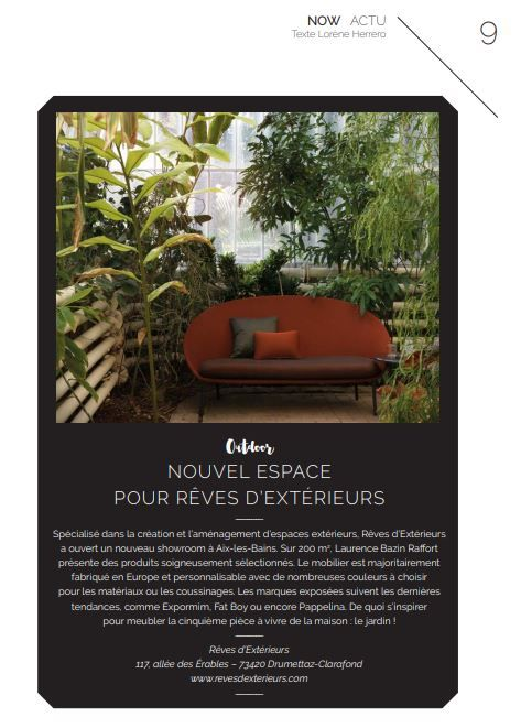 Tendances outdoor article presse