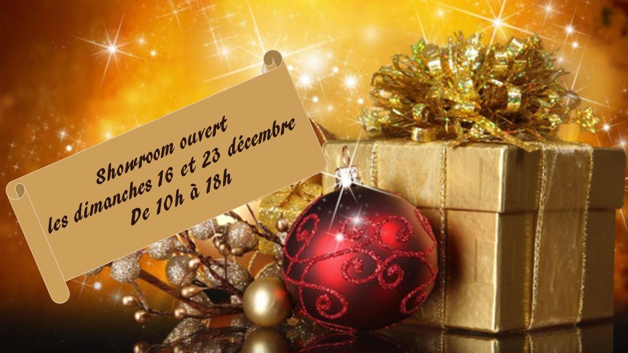 Ouverture les dimanches 16 et 23 décembre de 10h00 à 18h00